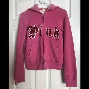 Victoria's Secret Pink Zip Hoodie